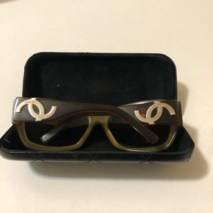 Vintage Authentic Chanel eyeglasses strong frame
